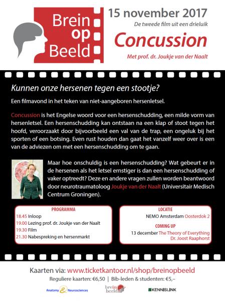 Brein in Beeld organiseert filmprogramma inclusief presentatie