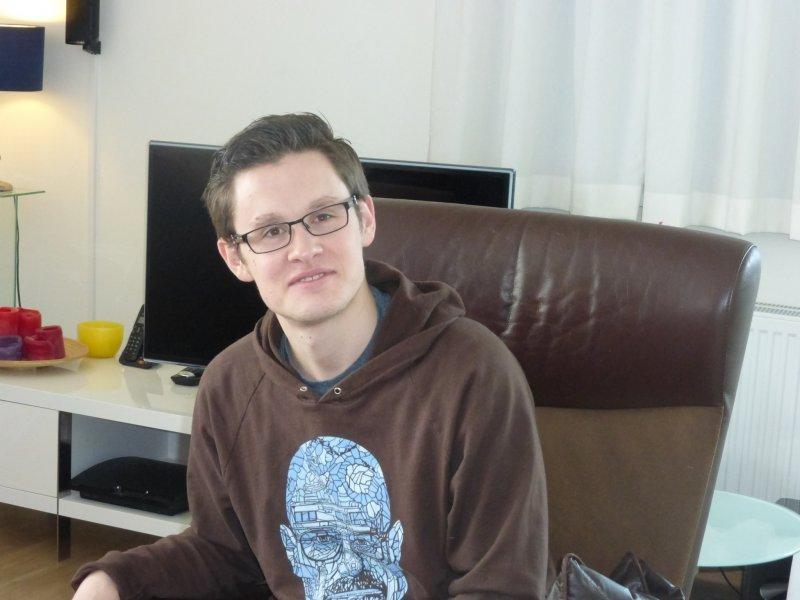Daniël ervaart gevoel van vrijheid op woonlocatie Interakcontour