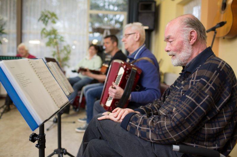 Zingen met accordeon