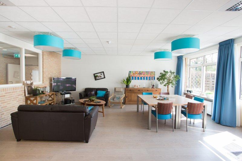 Huiskamer 'blauwe groep'
