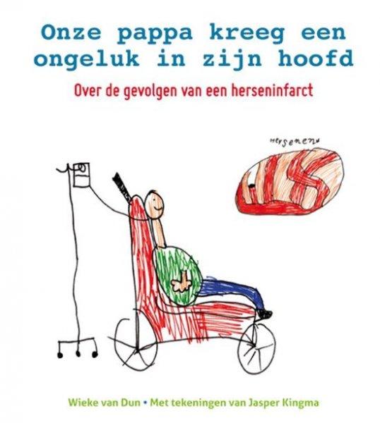 Kinderboek over de gevolgen van een herseninfarct