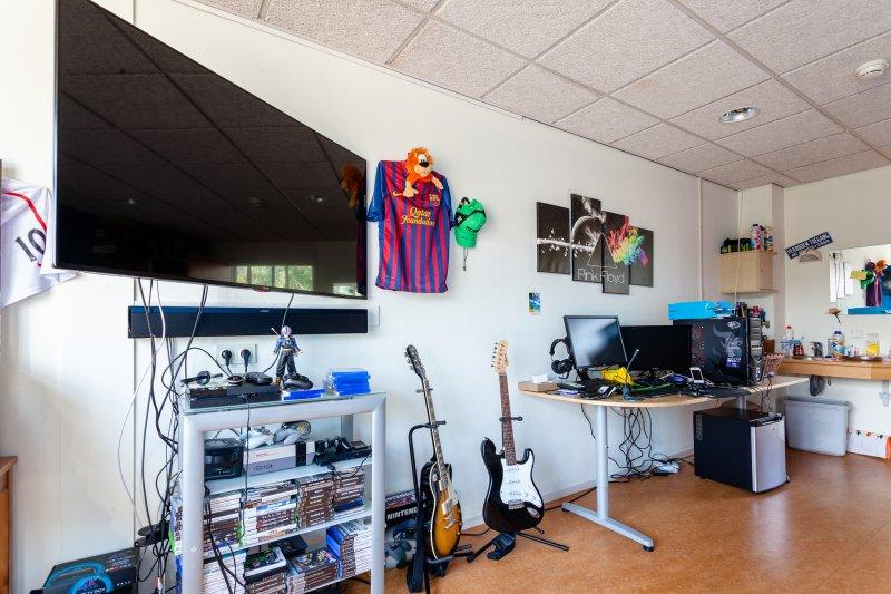 Muziek- en spelkamer