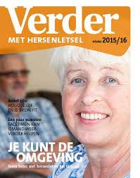 Ontvang gratis het Magazine Verder met Hersenletsel