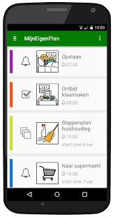 App MijnEigenPlan helpt om structuur aan te brengen