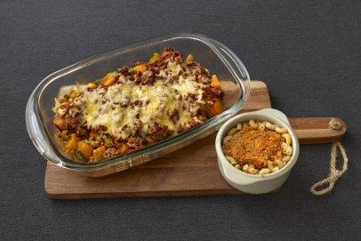 Kookboek recept: Herfstschotel met pompoen en gehakt