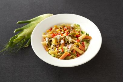 Kookboek recept: Vegetarische salade met pasta